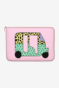 "DailyObjects Pastel Rickshaw Macbook 12"" Zippered Sleeve"