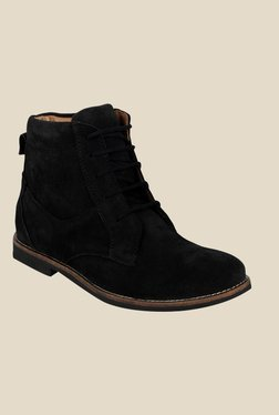 Kielz Black Casual Boots