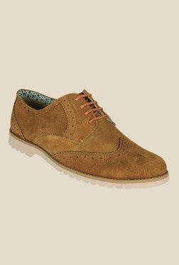 Kielz Tan Brogue Shoes
