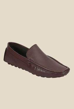 Kielz Brown Casual Loafers
