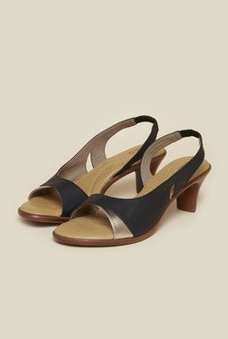 a0d93b8c664 Inc.5 Black Sling Back Sandals