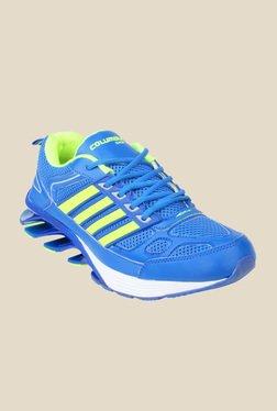 Columbus Blaze Blue & Green Running Shoes