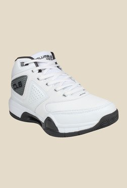 Columbus Charger White & Grey Training Shoes