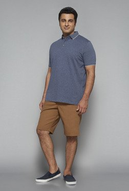 Oak & Keel By Westside Navy Polo T Shirt - Mp000000000441495