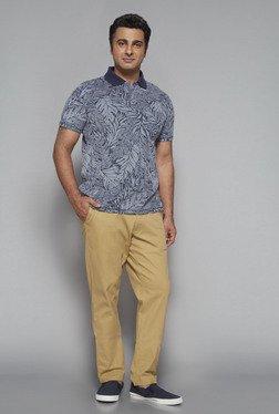 Oak & Keel By Westside Navy Polo T Shirt
