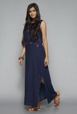 Bombay Paisley by Westside Navy Printed Dress