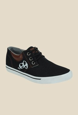 Get Glamr Renoir Black & Brown Sneakers