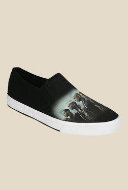 Get Glamr Morison Black Sneakers