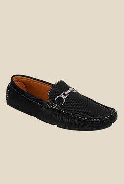 Get Glamr Charles Black Loafers