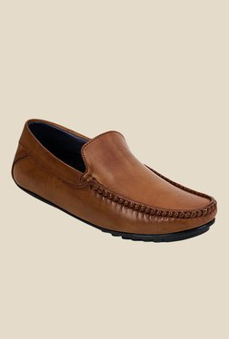 Get Glamr Pacino Brown Loafers