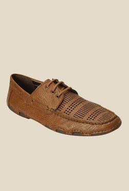 Get Glamr Dahl Brown Boat Shoes