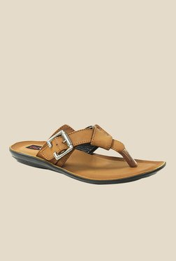 Get Glamr Jon Brown Slide Sandals