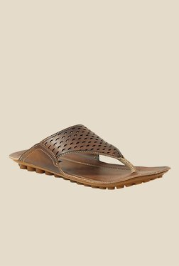 Get Glamr Andre Brown Slide Sandals