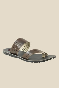 Get Glamr Owens Brown Slide Sandals