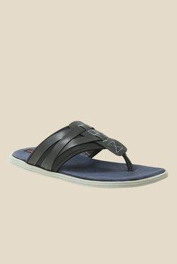 Get Glamr Monfret Black Slide Sandals
