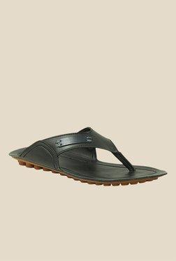 Get Glamr Ward Black Slide Flip Flops