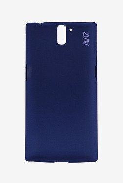 Aviz Hard Back Case For OnePlus One (Deep Blue)