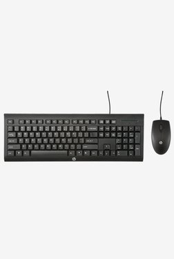 HP C2500 Keyboard and Mouse Combo (Black)