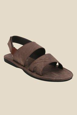 Yepme Brown Back Strap Sandals