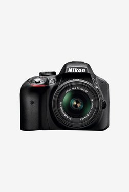 Nikon D3400 with (AF-P DX 18-55mm VR Lens) DSLR Camera