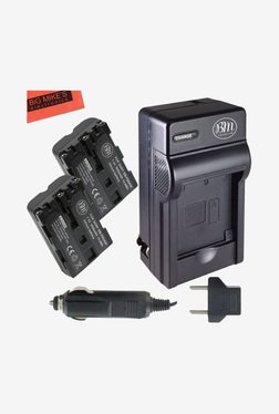 Big Mike's NP-FM500H 1500 mAh Battery & Charger Kit (Black)
