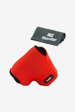 MegaGear Neoprene Camera Case for Olympus OM-D E-M1 (Red)