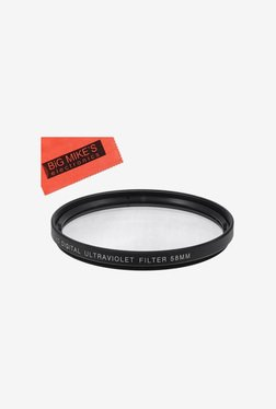 Big Mike's 58mm Multi-Coated UV Protective Filter (Black)