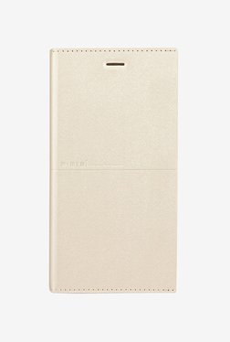 Memumi Simple Plus Flip Cover for iPhone 6s Plus (Golden)