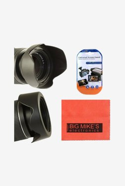 Big Mike's 67mm Digital Tulip Flower Lens Hood (Black)
