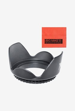 Big Mike's 72mm Digital Tulip Flower Lens Hood (Black)