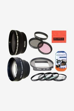 Deluxe Lens Kit for Gopro Hero3+, Hero4 Camera