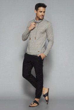 ETA By Westside Grey Slim Fit T Shirt