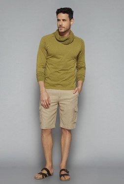 ETA By Westside Olive Slim Fit T Shirt