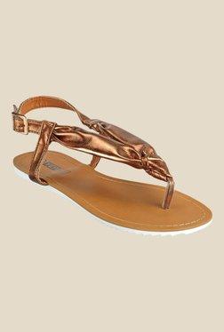 Yepme Coffee Brown Back Strap Sandals
