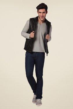 Yepme Black Rixton Quilted Jacket