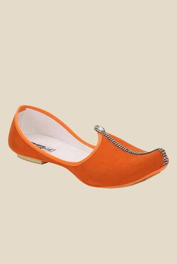 Yepme Orange Jutti Shoes
