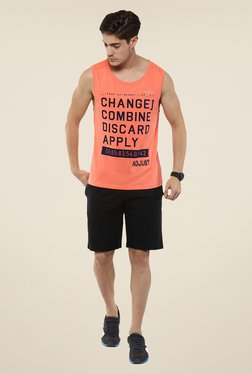 Yepme Peach John High Performance Muscle Printed T-shirt