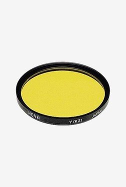Hoya K2 Yellow Hmc Lens Filter (Black)