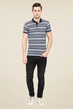 Duke Stardust Navy Striped T-shirt