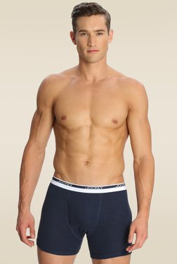 Jockey Ink Blue Melange Boxer Brief - 8009