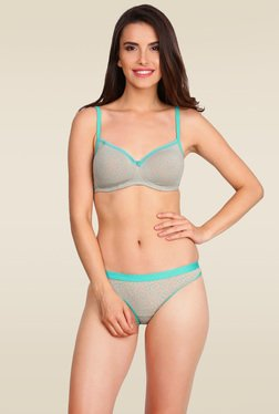 Jockey Turquoise Non-wired Padded Bra - 1723