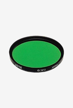 Hoya 62mm X1 Green Hmc Lens Filter (Black)