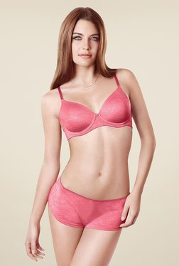 Amante Pink Non Padded Bra