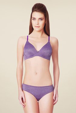 Amante Purple Under Wired Bra