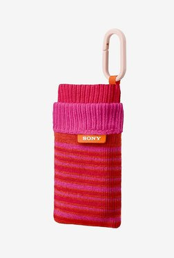 Sony LCS-CSZ/P Sock-Like Camera Case (Pink)