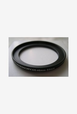 HeavyStar Dedicated Metal Step-Up Ring 46mm to 55mm (Black)