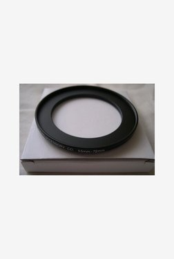 HeavyStar Dedicated Metal Step-Up Ring 55mm to 72mm (Black)
