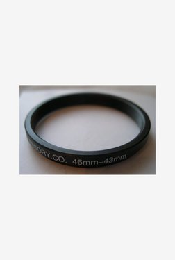 HeavyStar Dedicated Step-Down Ring 46mm to 43mm (Black)