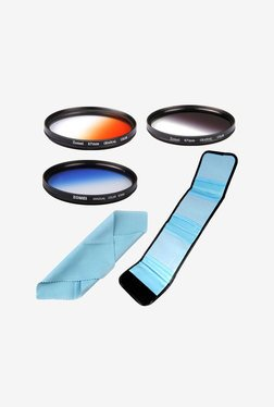 Zomei 55mm High Quality Graduated Color Lens (Black)
