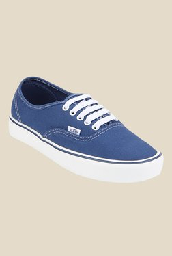 Vans Authentic Blue & White Sneakers - Mp000000000474142